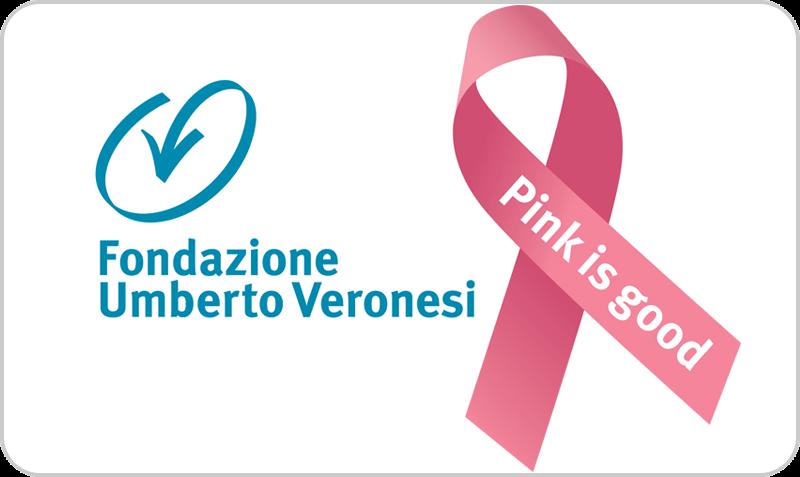 Gift Card Fondazione Veronesi - Pink is GOOD