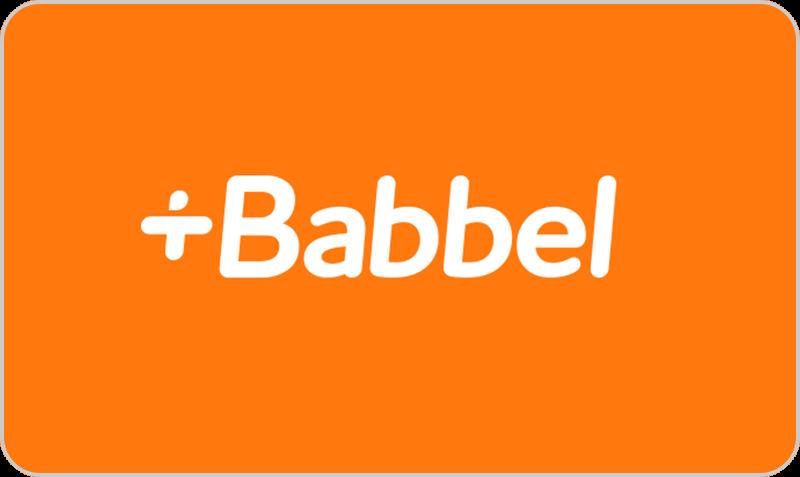 Gift Card Babbel
