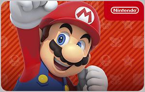 La tarjeta Nintendo para comprar videojuegos, gameboy, Nintendo Switch, Nintendo 3DS, Nintendo 2DS, Wii U y amiibo.