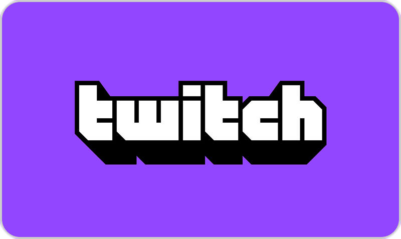 Gift Card Twitch
