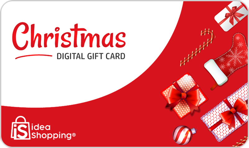 Gift Card Idea Shopping Christmas Card
