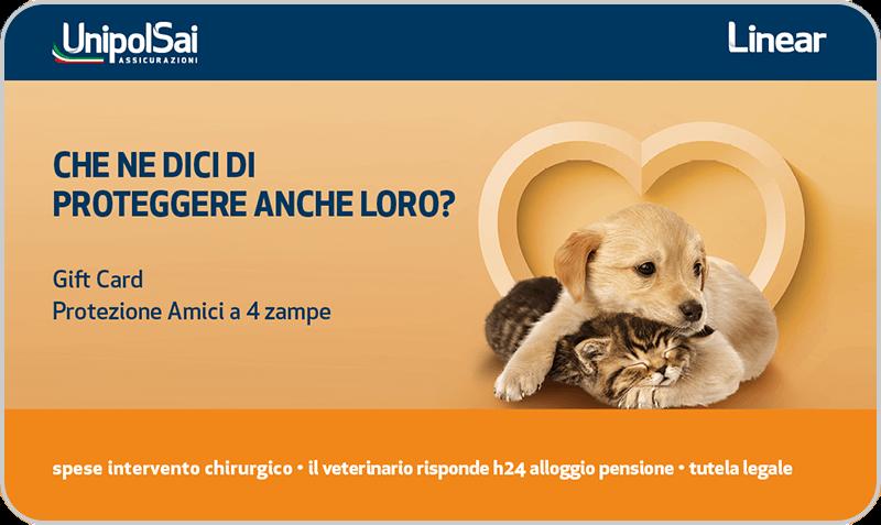 Gift Card UnipolSai Cane&Gatto
