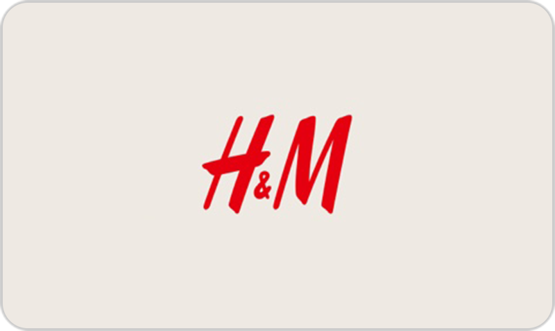 Gift Card H&M